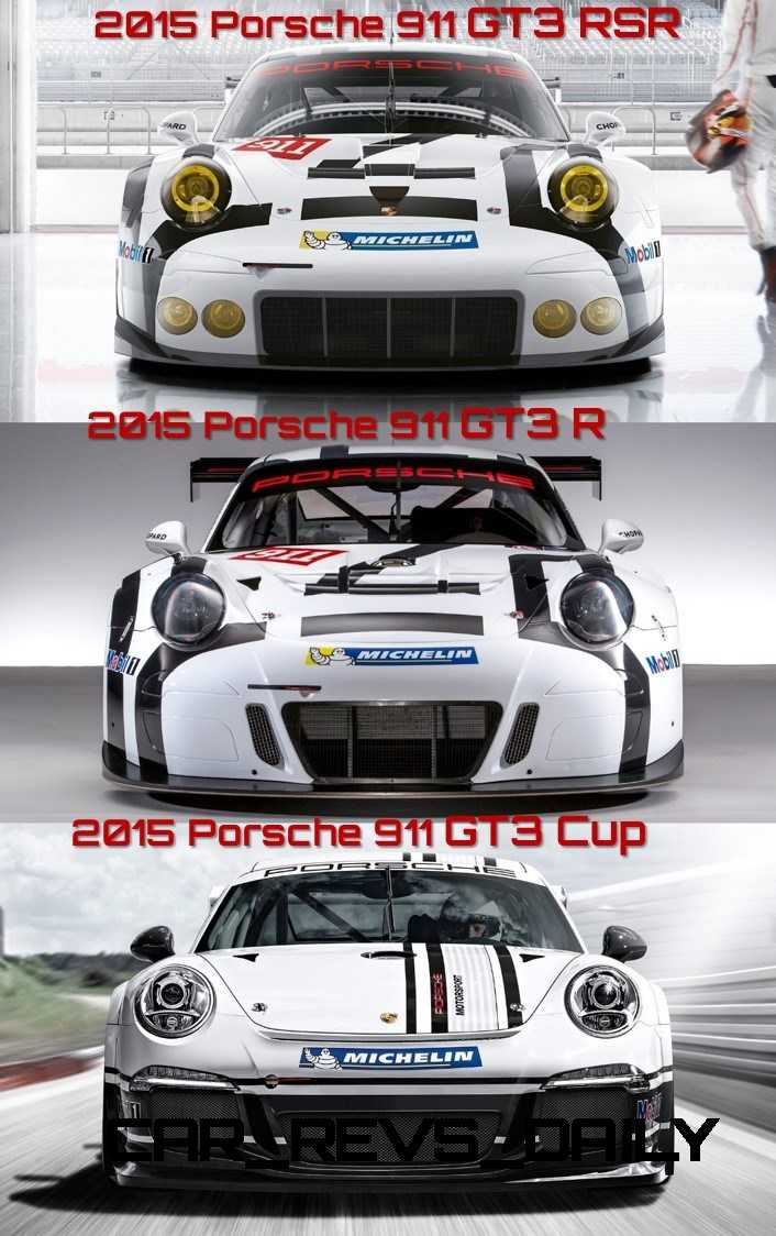 GT3R vs rsr vs cup