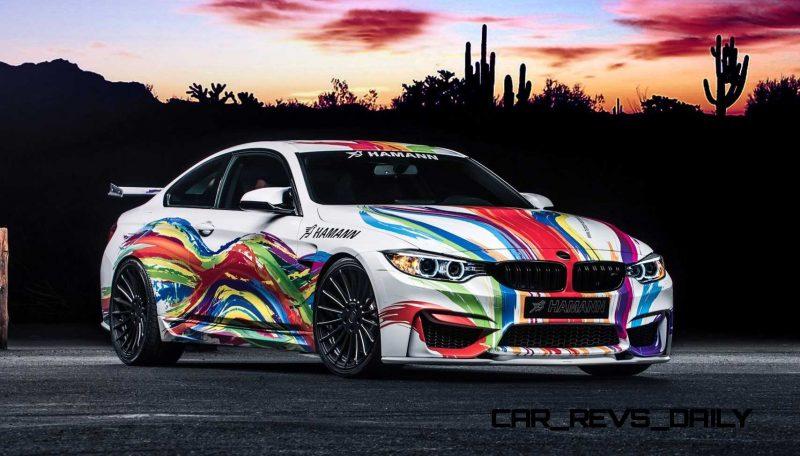 HAMANN 2015 BMW M4 Art Cars 1