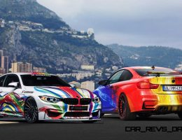 HAMANN Presents Dueling Good/Evil 2015 BMW M4 Art Cars