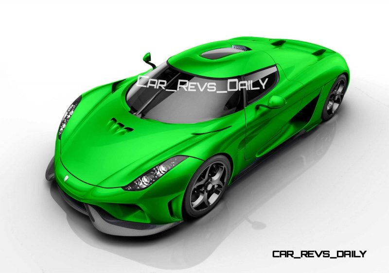 Koenigsegg Regera Colors HQ 12