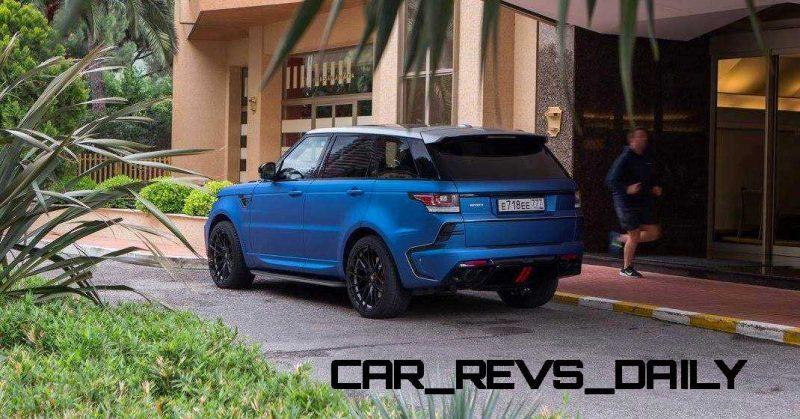 LARTE Design Range Rover Sport WINNER Monte Carlo Monaco 1