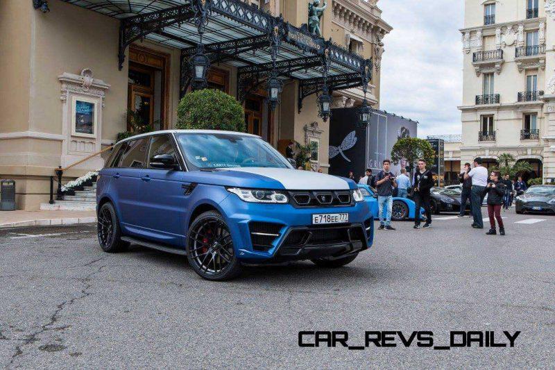 LARTE Design Range Rover Sport WINNER Monte Carlo Monaco 14
