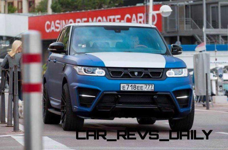 LARTE Design Range Rover Sport WINNER Monte Carlo Monaco 18