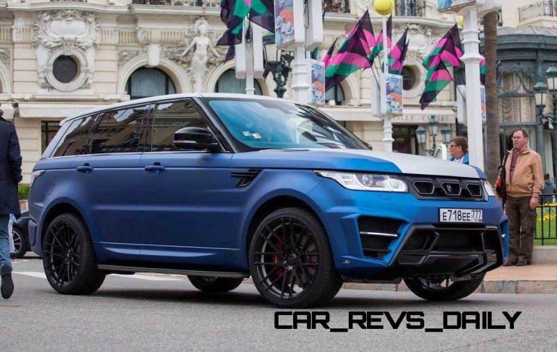 LARTE Design Range Rover Sport WINNER Monte Carlo Monaco 20