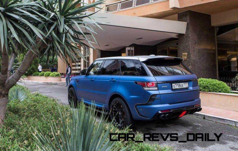 LARTE Design Range Rover Sport WINNER Monte Carlo Monaco 22