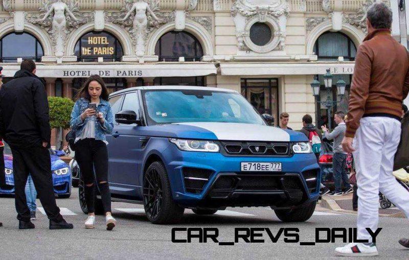 LARTE Design Range Rover Sport WINNER Monte Carlo Monaco 23