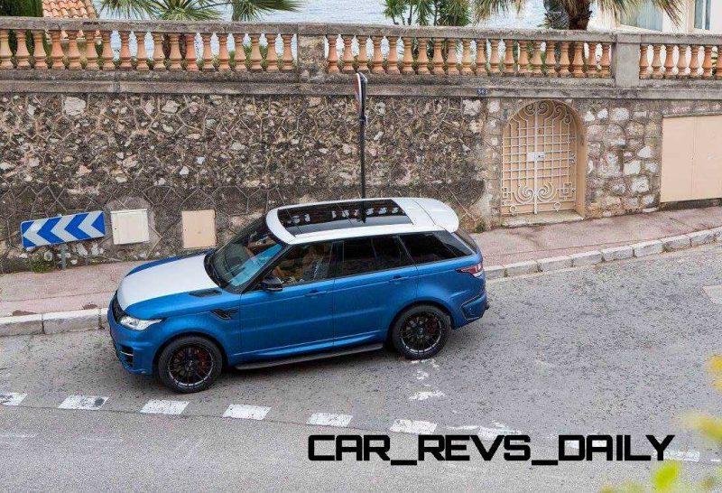 LARTE Design Range Rover Sport WINNER Monte Carlo Monaco 24