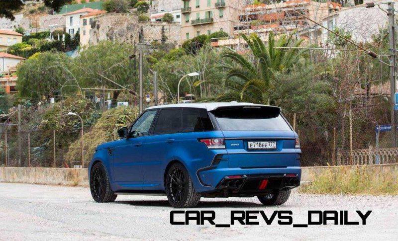 LARTE Design Range Rover Sport WINNER Monte Carlo Monaco 25