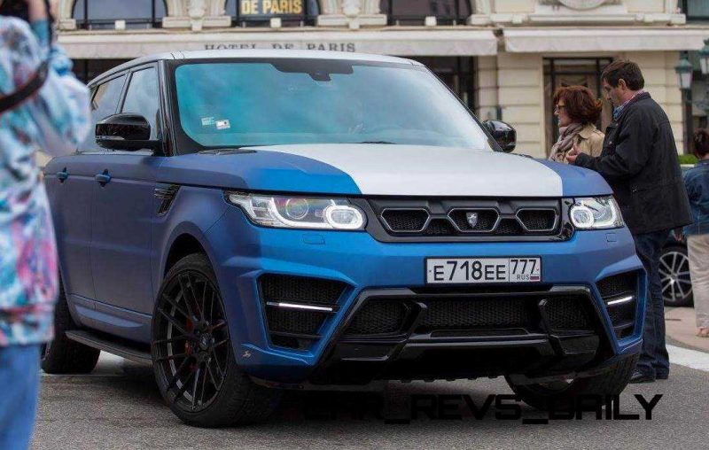 LARTE Design Range Rover Sport WINNER Monte Carlo Monaco 29
