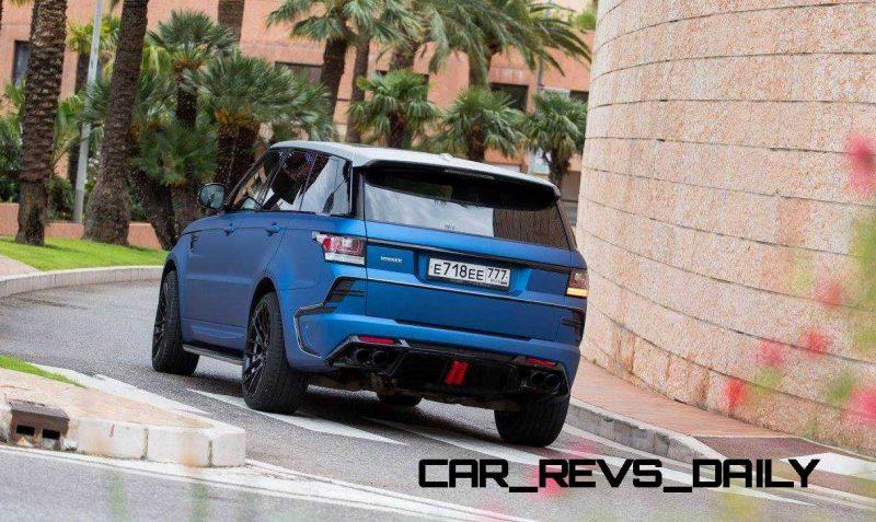 LARTE Design Range Rover Sport WINNER Monte Carlo Monaco 3
