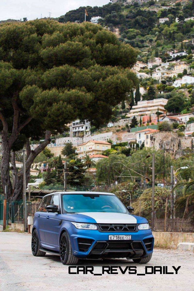 LARTE Design Range Rover Sport WINNER Monte Carlo Monaco 32