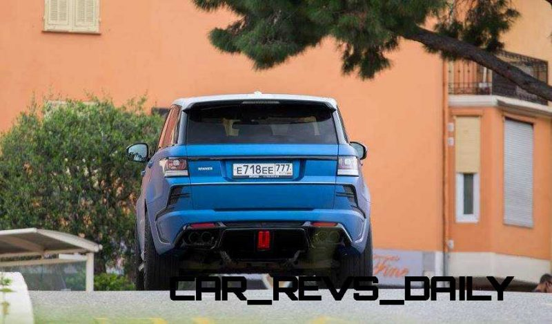 LARTE Design Range Rover Sport WINNER Monte Carlo Monaco 35