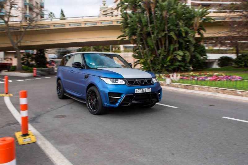 LARTE Design Range Rover Sport WINNER Monte Carlo Monaco 38