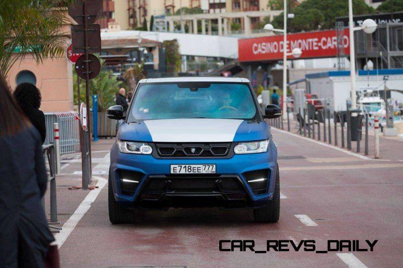 LARTE Design Range Rover Sport WINNER Monte Carlo Monaco 40