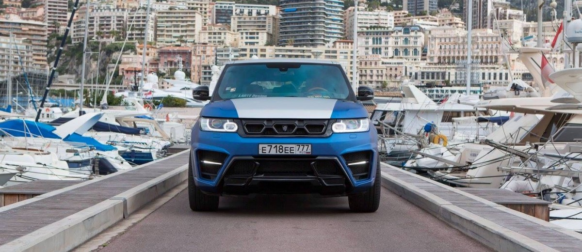 LARTE Design Range Rover Sport WINNER Monte Carlo Monaco 45