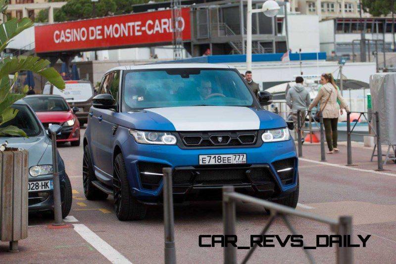 LARTE Design Range Rover Sport WINNER Monte Carlo Monaco 46