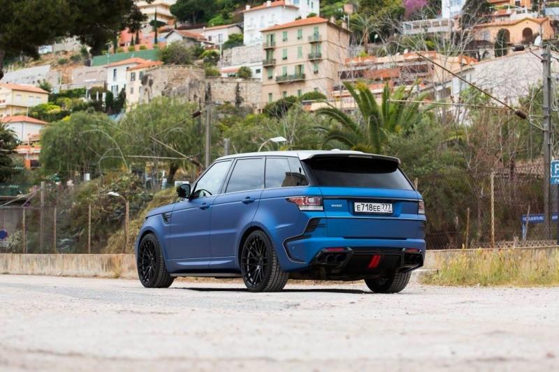 LARTE Design Range Rover Sport WINNER Monte Carlo Monaco 48