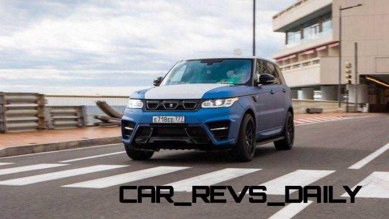 LARTE Design Range Rover Sport WINNER Monte Carlo Monaco 5