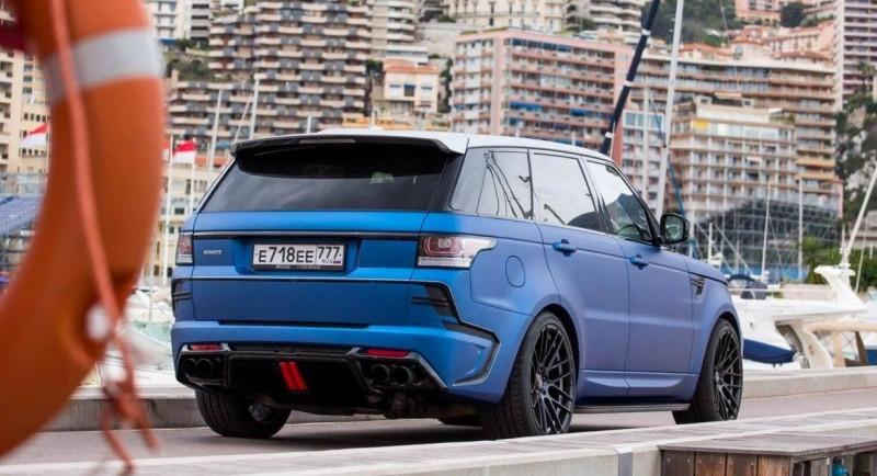 LARTE Design Range Rover Sport WINNER Monte Carlo Monaco 52
