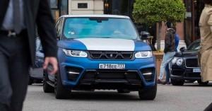 LARTE Design Range Rover Sport WINNER Monte Carlo Monaco 55