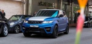 LARTE Design Range Rover Sport WINNER Monte Carlo Monaco 56