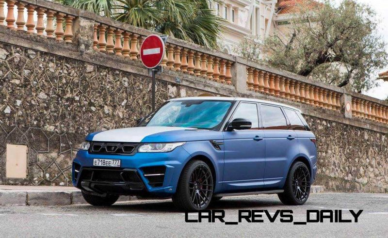 LARTE Design Range Rover Sport WINNER Monte Carlo Monaco 57