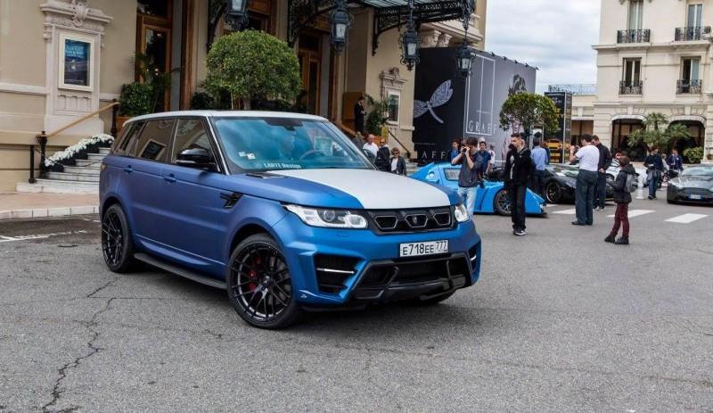 LARTE Design Range Rover Sport WINNER Monte Carlo Monaco 60