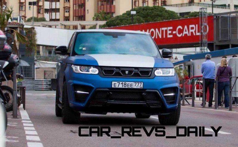 LARTE Design Range Rover Sport WINNER Monte Carlo Monaco 63