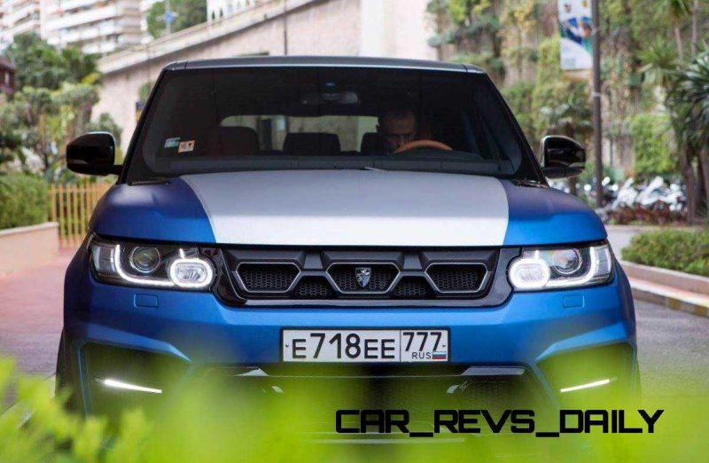 LARTE Design Range Rover Sport WINNER Monte Carlo Monaco 66