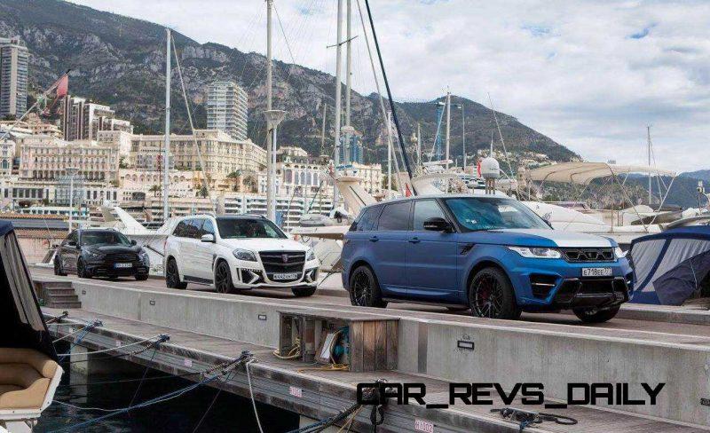 LARTE Design Range Rover Sport WINNER Monte Carlo Monaco 68