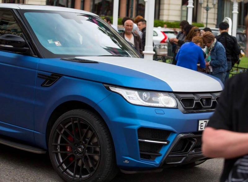 LARTE Design Range Rover Sport WINNER Monte Carlo Monaco 69