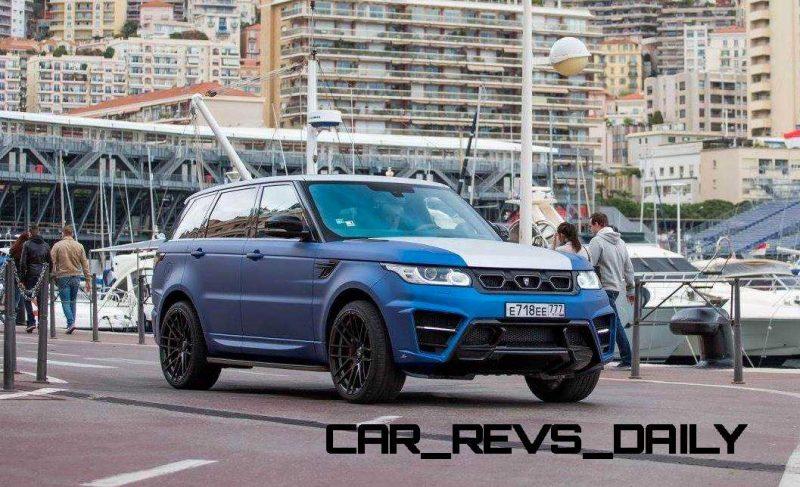 LARTE Design Range Rover Sport WINNER Monte Carlo Monaco 70