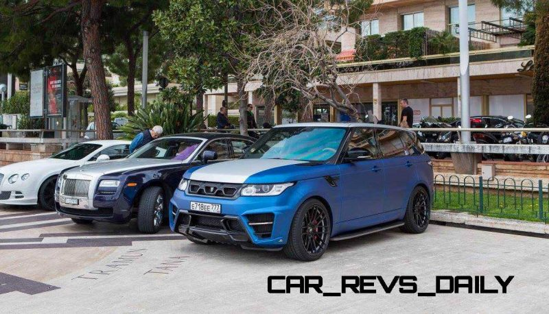 LARTE Design Range Rover Sport WINNER Monte Carlo Monaco 73