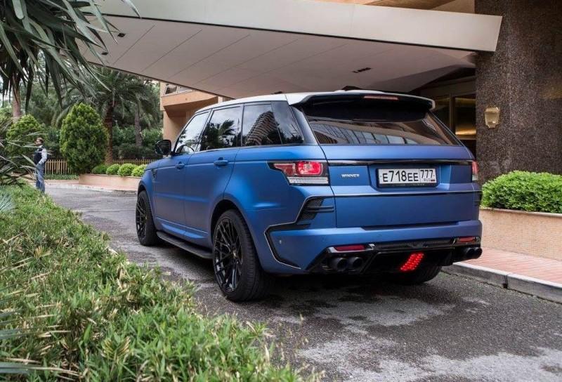 LARTE Design Range Rover Sport WINNER Monte Carlo Monaco 9