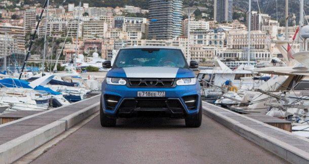 LARTE Design Range Rover Sport WINNER Monte Carlo Monaco