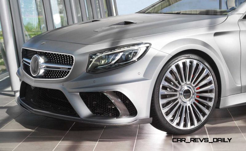 MANSORY S Class front34