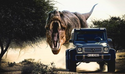 Mercedes Jurassic World 1