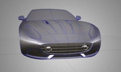 New LED Foglamps for 2015 Berlinetta Lusso by Touring SuperLeggera 3