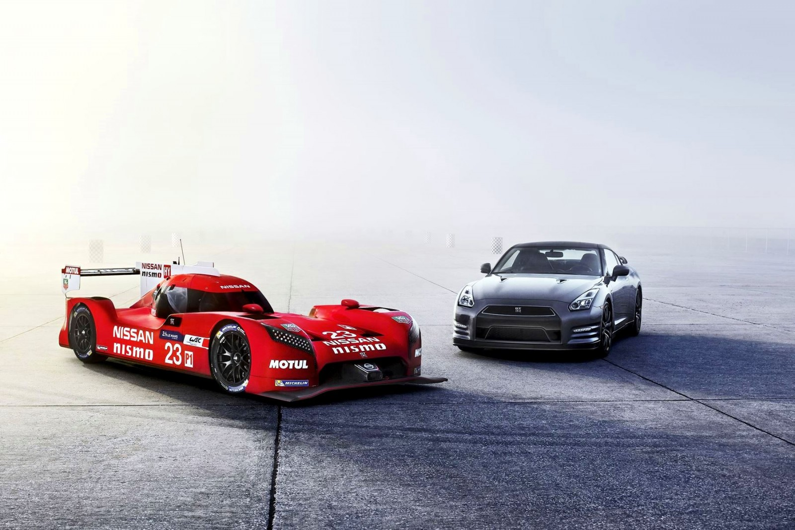 Nissan GT-R and Nissan GT-R LM NISMO