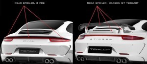 Porsche 991 Stinger by TopCar Now Available for All 911 Carrera Models and Bodystyles 1