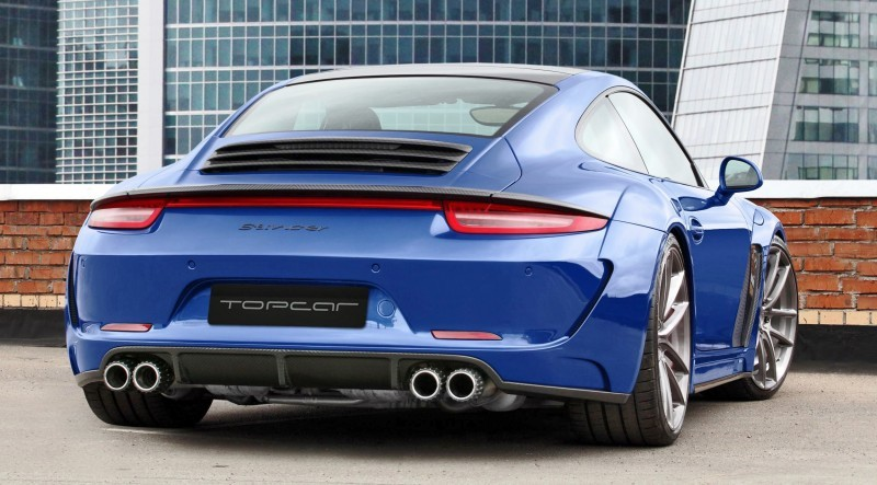 Porsche 991 Stinger by TopCar Now Available for All 911 Carrera Models and Bodystyles 10