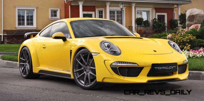 Porsche 991 Stinger by TopCar Now Available for All 911 Carrera Models and Bodystyles 25