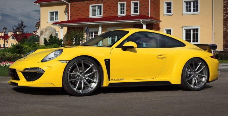 Porsche 991 Stinger by TopCar Now Available for All 911 Carrera Models and Bodystyles 26