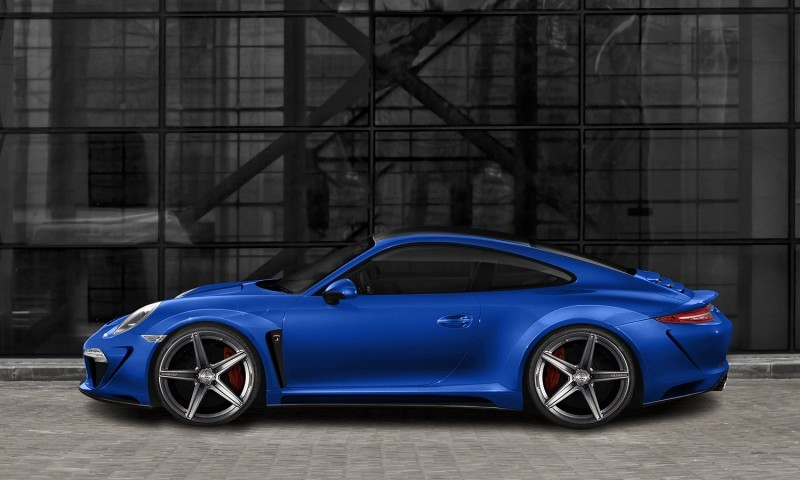 Porsche 991 Stinger by TopCar Now Available for All 911 Carrera Models and Bodystyles 3