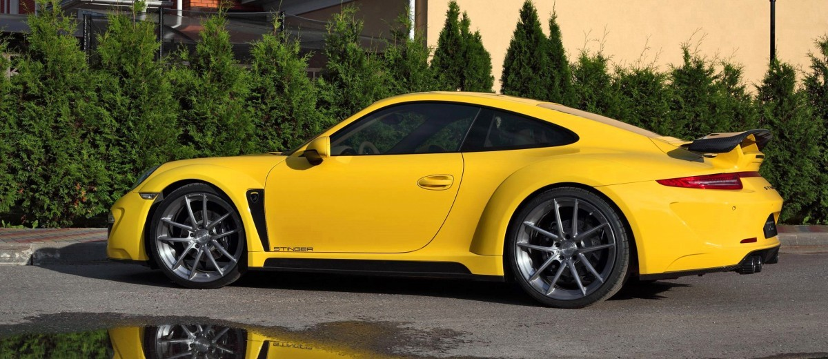Porsche 991 Stinger by TopCar Now Available for All 911 Carrera Models and Bodystyles 37
