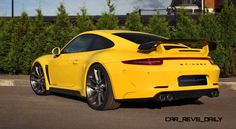 Porsche 991 Stinger by TopCar Now Available for All 911 Carrera Models and Bodystyles 38