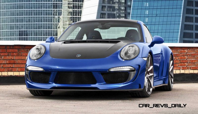 Porsche 991 Stinger by TopCar Now Available for All 911 Carrera Models and Bodystyles 4