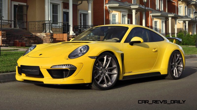 Porsche 991 Stinger by TopCar Now Available for All 911 Carrera Models and Bodystyles 41