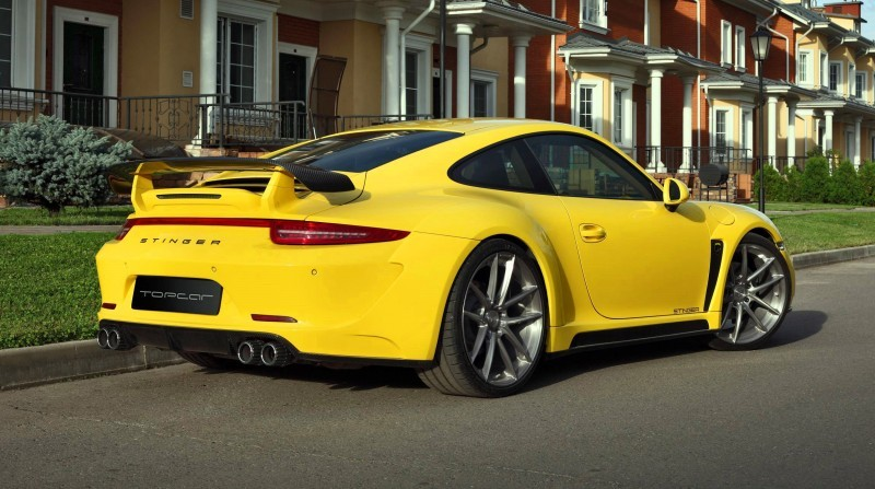 Porsche 991 Stinger by TopCar Now Available for All 911 Carrera Models and Bodystyles 42