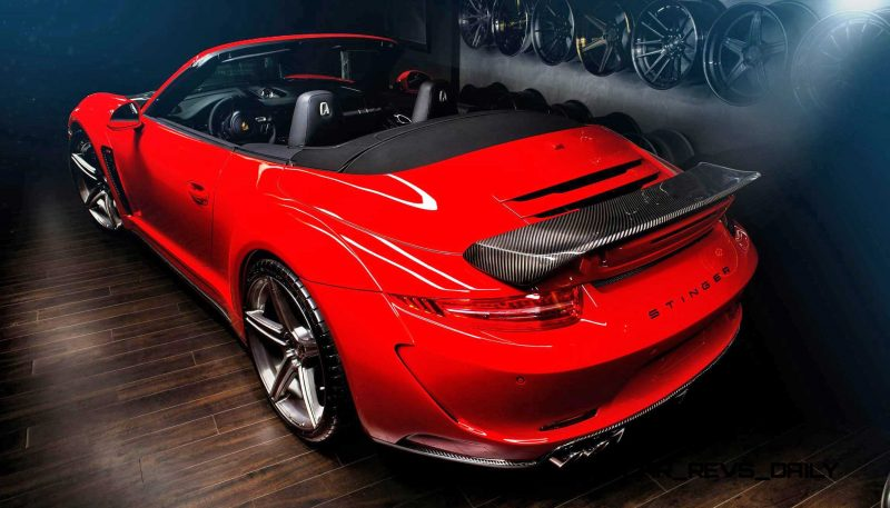Porsche 991 Stinger by TopCar Now Available for All 911 Carrera Models and Bodystyles 55